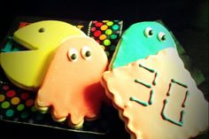 "Stephen's ""Nerdy 30"" Pac Man Cookies"