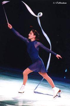 "1999-2000, Katia Gordeeva, Figure Skating, Choreography: Marina Zueva Music: Franz Liszt ""Petrarch Sonnet No. 104"""