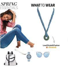 Spring 2018 Fashion Trends: Little Boy Blue Statement Necklace