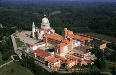 Vista aérea del Colle Don Bosco