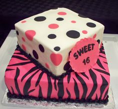 Sweet 16 Sheet Cake Ideas | Welcome to the Birthday Cake Gallery