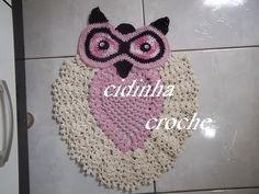 Croche-Tapete De Coruja-Passo A Passo-Parte 2 -Final