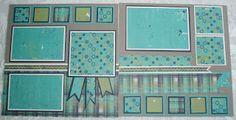 Two page ~ color; scraps