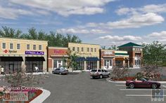 A proposed retail center for Edenton, NC