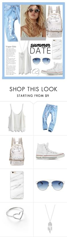"""""""Summer date"""" by chloe-86 ❤ liked on Polyvore featuring Chicwish, Cynthia Rowley, Converse, Christian Dior, Jordan Askill, Lucky Brand, statefair and summerdate"""