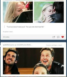 Every Captian Swan shippers face when Hook and Emma kissed