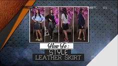 iLook - How To - Style Leather Skirt
