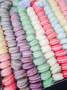 Macaroons! I am telling you the student run bakery at my school sells the MOST AMAZING macaroons I have ever tasted thus far. And fresh too!