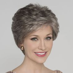 Hair Beauty - The Alexis Deluxe wig from the Hairpower Collection is a beautifully, softly waved style which has a luxurious cap construction. Short Hair Over 60, Short Permed Hair, Short Thin Hair, Short Grey Hair, Short Hair With Layers, Cute Hairstyles For Short Hair, Short Hair Cuts For Women, Short Layered Haircuts, Short Hair 2014