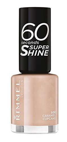From 2.69:Rimmel 60 Seconds Super Shine Nail Polish - 8 Ml Caramel Cupcake