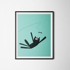 Oscar Jump  poster for kids and babies by ogift on Etsy #etsy #poster #babies #baby #kidsroom #babieroom