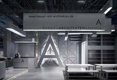 ippolito fleitz group: german federal chamber of architects exhibition stand