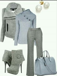 fashionable work outfit ideas for fall winter 2020 48 wonderful business attire ideas for women in winter businessattire does your work wardrobe need a tune up good news! Mode Outfits, Casual Outfits, Fashion Outfits, Womens Fashion, Fashion Trends, Casual Pants, Dress Outfits, Dresses, Style Work
