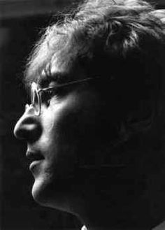 John Lennon ♦ English musician, singer and songwriter.  http://www.youtube.com/watch?v=RwUGSYDKUxU