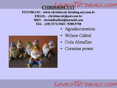Snow White and the Seven Dwarfs figures making tutorials