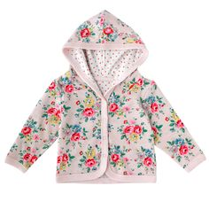 Latimer Rose Baby Girls Hooded Jacket | New In Kids | CathKidston