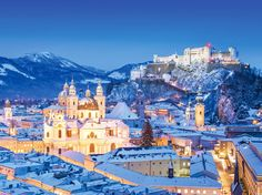 Salzburg, Austria. One of the prettiest cities on the planet. Hands down.