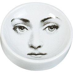 Round Porcelain Ashtray Fornasetti