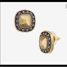 Silpada Crystal Cluster Earrings Nwt