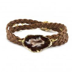 Agate Wrap Bracelet #alexandrabeth