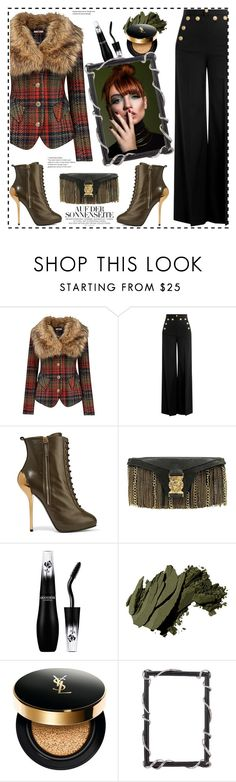 """""""Personal Style"""" by boky-d ❤ liked on Polyvore featuring Joe Browns, RED Valentino, Giuseppe Zanotti, Balmain, Bobbi Brown Cosmetics, Yves Saint Laurent and Olivia Riegel"""