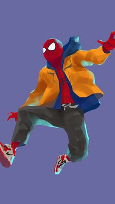breathtaking wallpaper Spider-Man: Into the Spider-Verse, spider-man, movie, artwork, wallpaper - Free Large Images Spiderman Costume, Spiderman Movie, Amazing Spiderman, Best Marvel Characters, Black Cartoon, Marvel Wallpaper, Hd Wallpaper, Spider Verse, Marvel Vs