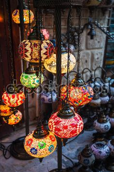 Arab street lanterns in the city of Dubai — Stock Image #115730296