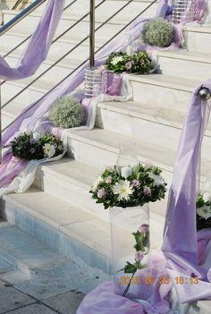 στολισμος γαμου με  λιλα χρωματα Wedding Decorations, Wedding Ideas, Plants, Amethyst, Image, Blue, Flowers For Weddings, Lilac, Wedding Decor
