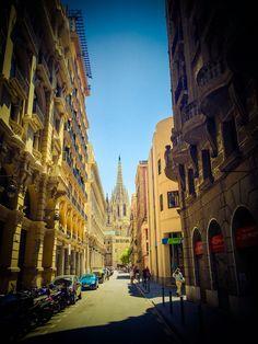 En Barcelona hay lugares con mucho encanto.