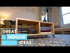 Make Your Own DIY Coffee Table | Indoor | Great Home Ideas - YouTube