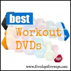 Home Workout DVD Recommendations. Everything from strength training to yoga to dance...and more!