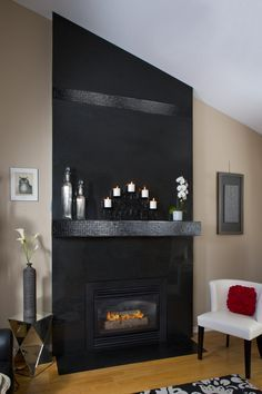 Awesome Image Result For Mantleless Fireplace Family Room Download Free Architecture Designs Scobabritishbridgeorg