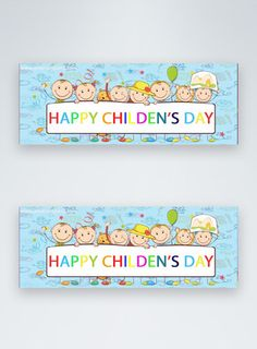 happy children's day sale facebook cover happy children's day,facebook banner,facebook cover,cartoon children, social media banner, hand-drawn#Lovepik#template