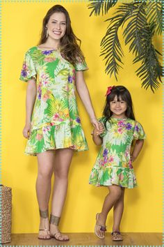 s Clothing Children' Mom And Baby Outfits, Family Outfits, Baby Girl Dresses, Baby Dress, Kids Outfits, Mother Daughter Fashion, Mom Daughter, African Dresses For Kids, Mommy And Me Shirt
