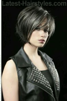 11 Ultra Modern-chic Hairstyles for Women - Coiffure Sites Short Hair With Bangs, Short Hair Cuts, Short Hair Styles, Long Bangs, Modern Hairstyles, Hairstyles With Bangs, Party Hairstyles, Japanese Hairstyles, Asian Hairstyles