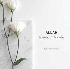 Allah is enough for me. Quran Quotes Love, Allah Quotes, Muslim Quotes, Religious Quotes, Arabic Quotes, Hindi Quotes, Sabr Islam, Allah Islam, Islam Quran