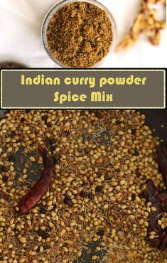 Curry powder Recipe is blended with basic spices like coriander, cumin, turmeric, fenugreek seeds and many more. This curry powder is integral part of my kitchen. Veggie Food, Veggie Recipes, Cooking Recipes, Spice Blends, Spice Mixes, How To Make Curry, Homemade Curry Powder, Masala Powder Recipe, Podi Recipe