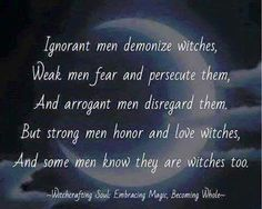 Men and witches