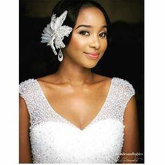 Dress and accesories by @bridesandbabies; MUA @ilauras_makeover #weddinglook #instabride