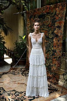 Lace and tulle Lihi Hod wedding dresses 2016 | www.onefabday.com