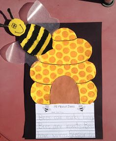 Busy Bees Classroom Display Photo Welcome To The Hive Happy BEE Back In School