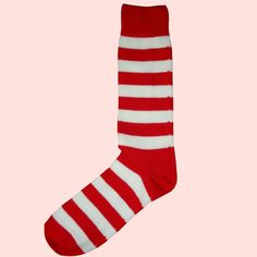 A Bassin and Brown red and white hooped stripe cotton sock, made in England. Shop Bassin and Brown for quality socks. Fleetwood Town Fc, Teal And Grey, Red And White, Brown Socks, Red Socks, Bristol City Fc, Sheffield United Fc, Nottingham Forest Fc, Southampton Fc