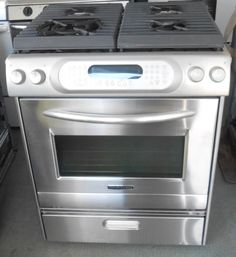 Appliance City   KitchenAid Architect Gas Range, $900.00 (http://www.