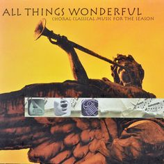 #Starbucks All Things Wonderful Cd Choral Classical Music For The Season 2000 #Chorale #christmas