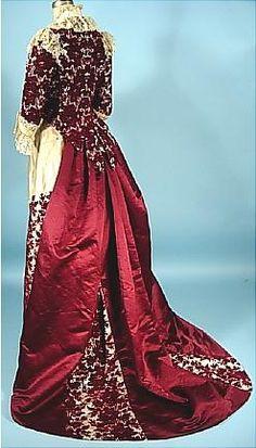 Antique Dress - Historical fashion www.designyourownperfume.co.uk to design your own unique perfume