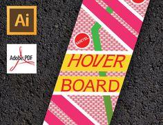 Hoverboard Vector Graphics  Digital Download by LETGODesign, $5.00