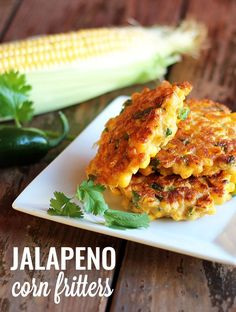 Jalapeno Corn Fritters -- A delicious side dish or appetizer!