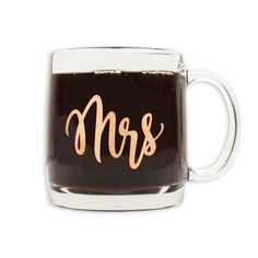Mrs Glass Mug