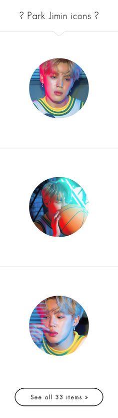 """✧ Park Jimin icons ✧"" by svnchild ❤ liked on Polyvore"