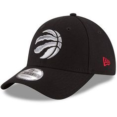 ea118cd019909 Era Toronto Raptors Black Official Team Color 9forty Adjustable Hat